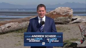 Federal Election: Scheer lays out platform, includes scrapping carbon tax