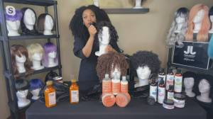 Using the right products to embrace your curls