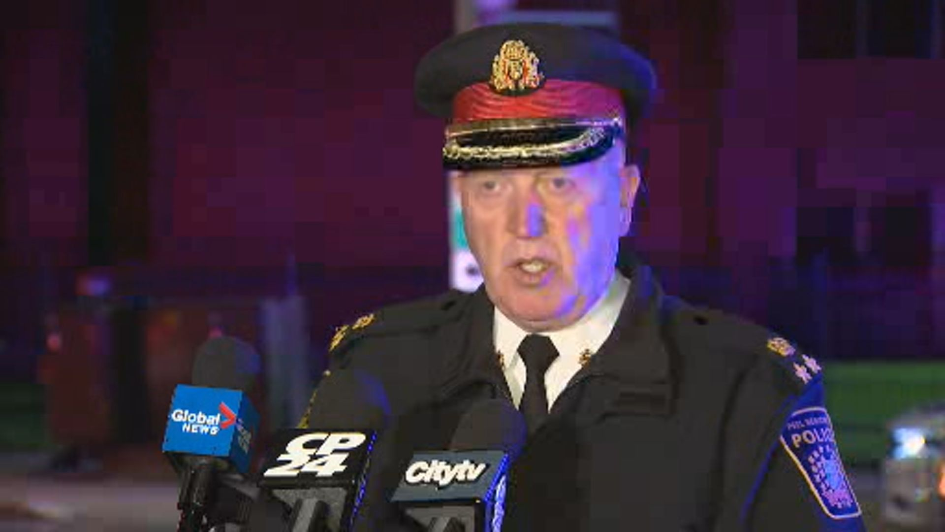 Peel police chief provides update on conditions of Mississauga shooting victims, says no one arrested