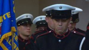 Fallen firefighters of 9/11 remembered at Lethbridge memorial ceremony