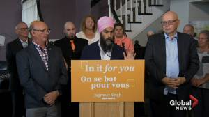 Federal Election 2019: Singh announces 'universal' pharmacare plan