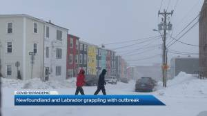 St. John's mayor on COVID-19 crisis out east (04:54)