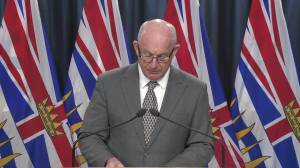 B.C. Public Safety Minister Mike Farnworth announces COVID-19 related ICBC rebate for drivers (01:32)