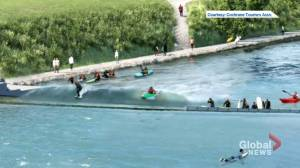 Proposed river wave park on Bow River called 'potential disaster' (01:44)