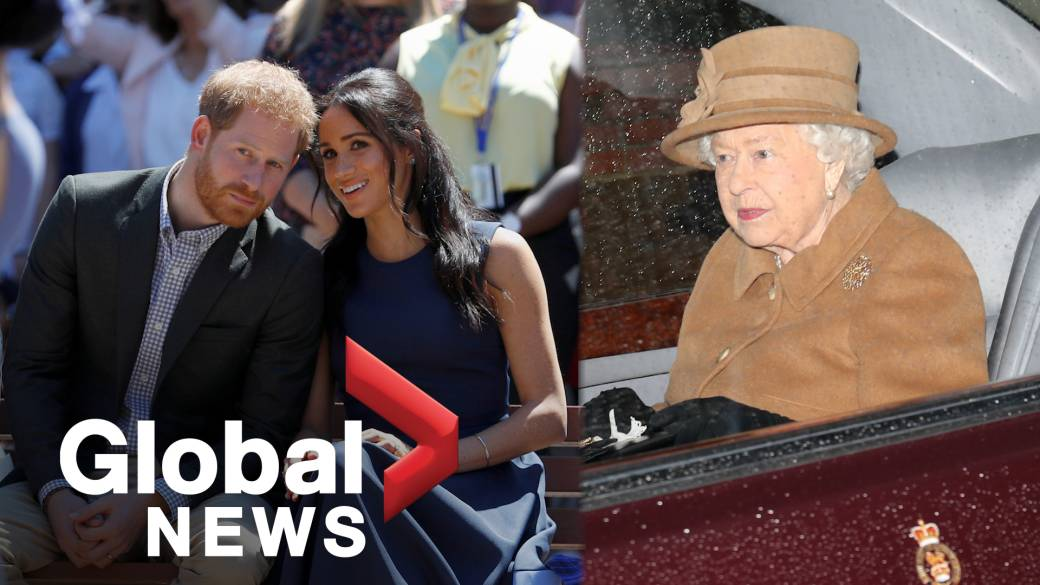 queen says she s supportive of prince harry meghan markle after meeting national globalnews ca queen says she s supportive of prince