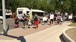 Anti-racism rally draws hundreds to legislature