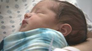 'He's a special boy': Couple celebrates first baby of the new year in Lethbridge