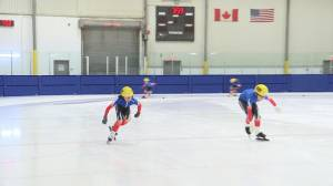 Kingston is hosting the Ontario Speed Skating championships