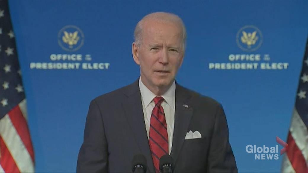 Click to play video 'Coronavirus: Biden promises 'massive' campaign to fight vaccine hesitancy, disinformation'