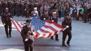 Ceremonies mark 20th anniversary of 9/11 attacks (02:28)