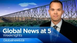 Global News at 5 Lethbridge: Oct 6 (12:33)