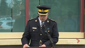 Alberta RCMP service dog Jago remembered for important role in law enforcement (02:37)