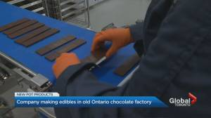 Smiths Falls back in the chocolate business, but now with cannabis-infused sweets (01:58)