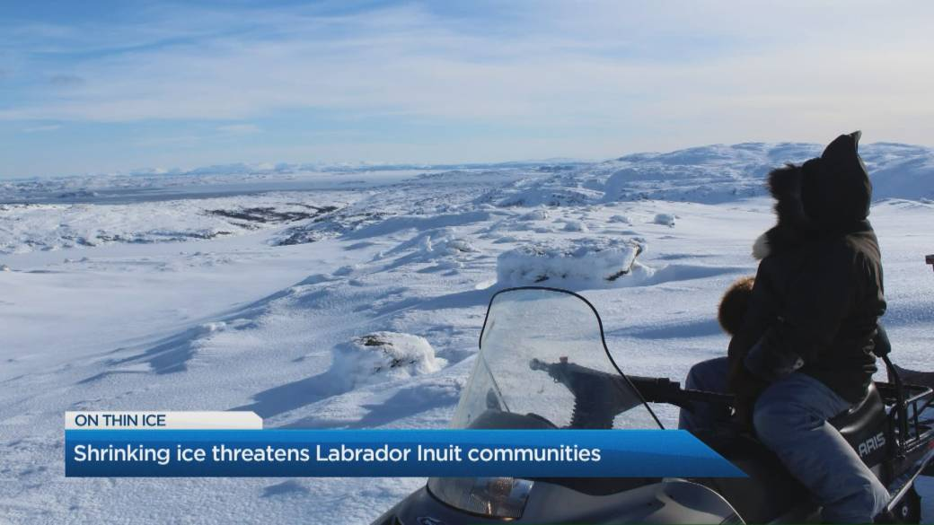 Click to play video: 'Climate change threatens life and culture for Inuit communities in eastern Canada'