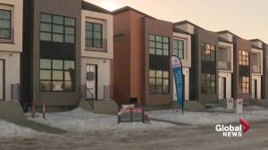 First show home opens in Edmonton's Blatchford neighbourhood (01:42)