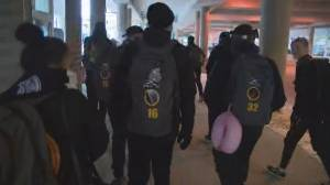Youth hockey team from Australia arrives in Edmonton