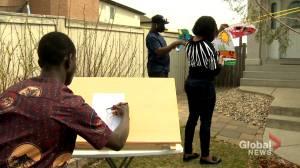 Calgary artists get 'groundbreaking' opportunity to showcase work worldwide (01:54)