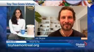 Toy Tea annual holiday fundraiser goes virtual year (04:24)