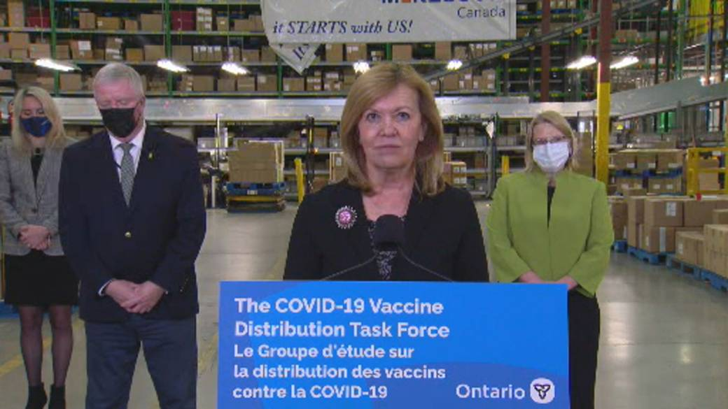 Click to play video 'Coronavirus: Ontario health minister says COVID-19 vaccine will be voluntary'