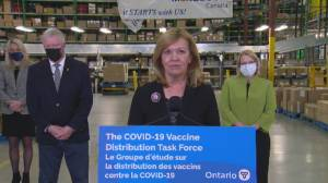 Coronavirus: Ontario health minister says COVID-19 vaccine will be voluntary (01:58)