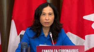 Coronavirus: Federal, provincial, territorial governments will have to decide how to use initial supply of COVID-19 vaccines, Tam says (02:26)