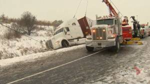 Morning snow in GTA leads to slow, messy commute Friday morning