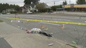 Driver fled after leaving man with life-threatening injuries in Vancouver hit-and-run (00:58)