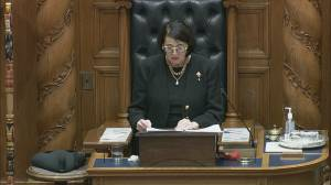 B.C.'s throne speech promises management of ongoing health crises  and economic recovery (09:43)