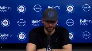 RAW: Winnipeg Jets Blake Wheeler Interview – Apr. 20 (09:15)