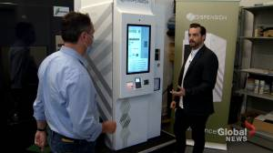 N.S. company creates safe drug-dispensing machine to fight opioid crisis (02:00)