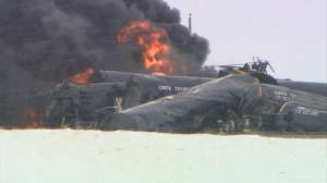 Guernsey, Sask. evacuated after CP freight train derailment