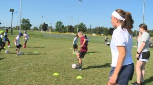 Pickering soccer players inspired by national team's Olympic journey (01:34)