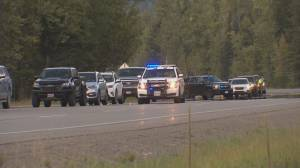 3 sent to hospital after serious crash near Fernie (01:08)