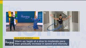 Working out with hula hoops is back in style! (06:52)