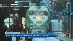 GTA transit preparations underway for winter storm