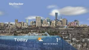 Edmonton early morning weather forecast: Monday, March 9, 2020