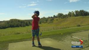 Calgary's Shaw Charity Classic junior golf clinic is a family affair