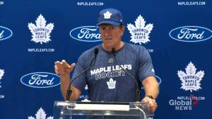 'There's nothing you can do about that': Leafs coach Mike Babcock on Mitch Marner