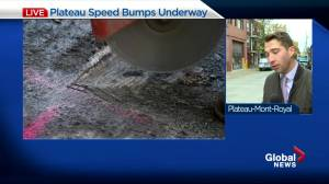 Plateau Residents Get Long-Awaited Speed Bumps