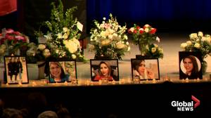 Nova Scotia gathers at Dalhousie University to mourn passengers of Iran plane crash (01:43)