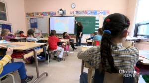 Coronavirus: Growing number of Quebec teachers request medical exemption (02:07)