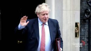 British PM Johnson will return to work on Monday, office says