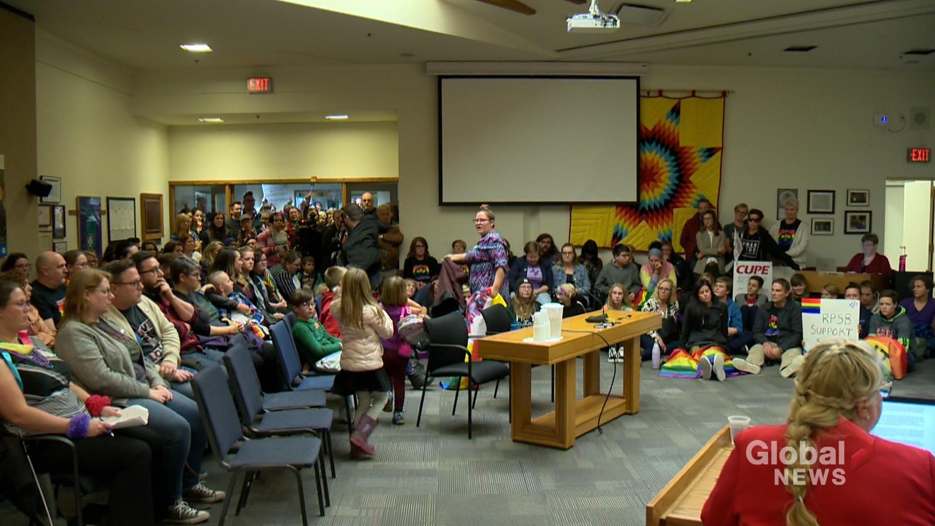 Regina Public School Board vote against Pride motion, to further discuss