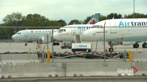 Quebec breaks talks to finance Trudeau airport's REM station (01:57)