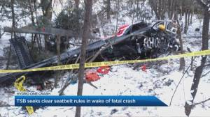 Transportation Safety Board seeks clear seatbelt rules after fatal Hydro One helicopter crash