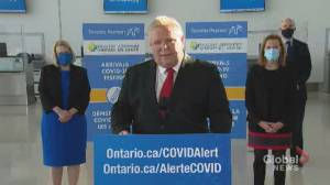 Coronavirus: Ford rails against reports federal inmates will receive COVID-19 vaccines starting Friday (01:23)