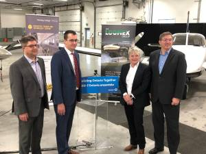 Ontario investing $1.5M in workforce training for Peterborough's aviation and aerospace sector (01:31)