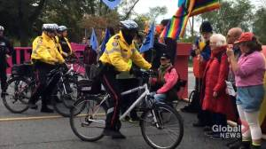 Toronto Extinction Rebellion protests shut down Bloor Viaduct, calling for climate action