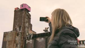 Colourful shacks on St-Henri malting factory turn heads