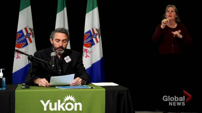 Click to play video: Coronavirus outbreak: Yukon premier announces reopening plan for territory